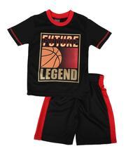 Arcade Styles - 2 Pc Future Legend Tee & Shorts Set (4-7)-2654138