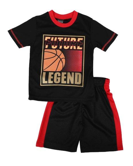Arcade Styles - 2 Pc Future Legend Tee & Shorts Set (4-7)