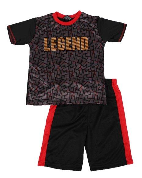 Arcade Styles - 2 pc Legend Printed Tee & Shorts Set (8-18)
