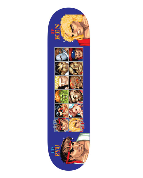 HUF - HUF x Street Fighter Players Select Deck
