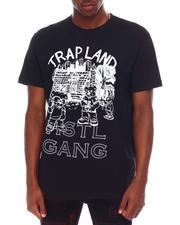 Hustle Gang - Trap Land Tee-2659729