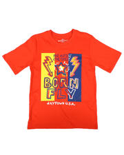 Born Fly - The Hottest & The Flyest Graphic Tee (8-20)-2658151
