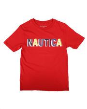 Nautica - Pressed Logo Tee (8-20)-2658883