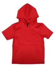 NOTHIN' BUT NET - Scuba Hooded T-Shirt W/ Kangaroo Pocket (8-20)-2658913