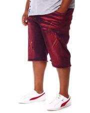 Buyers Picks - Paint Splatter Denim Shorts (B&T)-2660771