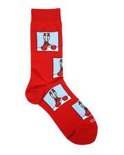DRJ SOCK SHOP - Confused Mr. Krabs Crew Socks-2659030