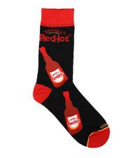 DRJ SOCK SHOP - Franks Red Hot Bottles Crew Socks-2659035