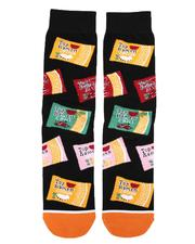 DRJ SOCK SHOP - Top Ramen Crew Socks-2659036