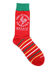 DRJ SOCK SHOP - Sriracha Crew Socks-2659040