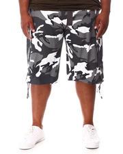 Big & Tall - Army Cargo Shorts (B&T)-2660677