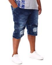 Big & Tall - Moto Shorts (B&T)-2660792