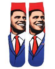 DRJ SOCK SHOP - Obama Crew Socks-2659026