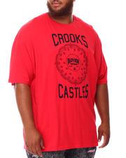 Crooks & Castles - Stereo Paisley Death Row T-Shirt (B&T)-2660351