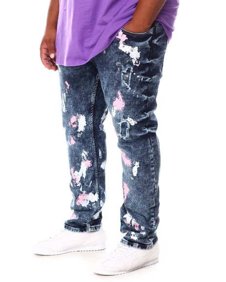 Buyers Picks - Paint Splatter Rip & Repair Denim Jeans (B&T)