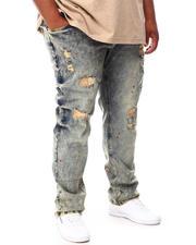 Big & Tall Faves - Rip & Repair Denim Jeans (B&T)-2660359