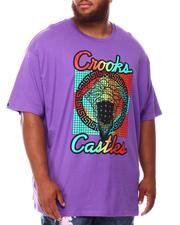 Crooks & Castles - Grecco Bandito Grid T-Shirt (B&T)-2660350