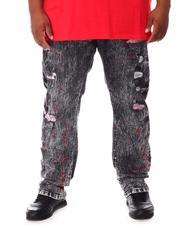 Jeans - Rip & Repair Denim Jeans (B&T)-2660554