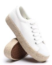 Fashion Lab - Beyley113L Lace Up Sneakers-2660404