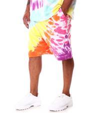Hustle Gang - Euphoria Tie Dye Shorts (B&T)-2661577