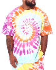 Hustle Gang - Stoned Tie Dye Knit T-Shirt (B&T)-2661592