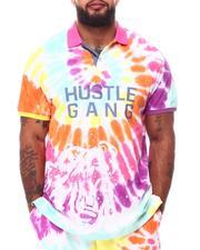 Hustle Gang - Buzzed Tie Dye Polo (B&T)-2661603