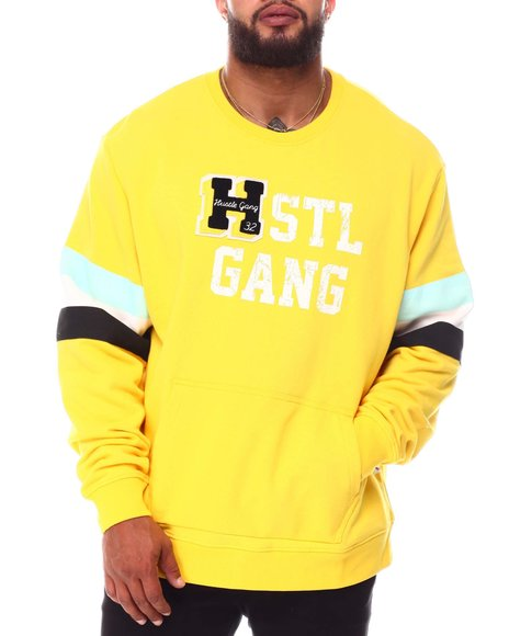 Hustle Gang - Half Back Crew Sweatshirt (B&T)