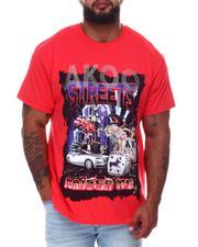 AKOO - Saga Knit T-Shirt (B&T)-2661919