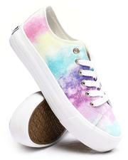 Fashion Lab - Beyley102L Tie-dye Canvas Sneakers-2660395