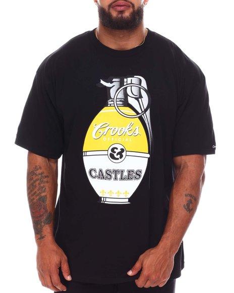 Crooks & Castles - Grenade T-Shirt (B&T)