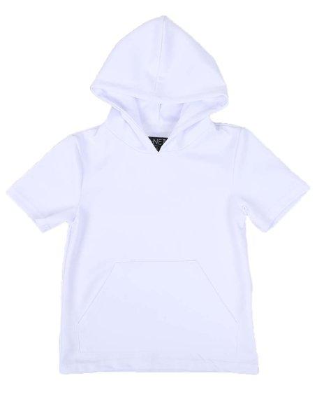 NOTHIN' BUT NET - Scuba Hooded T-Shirt W/ Kangaroo Pocket (8-20)