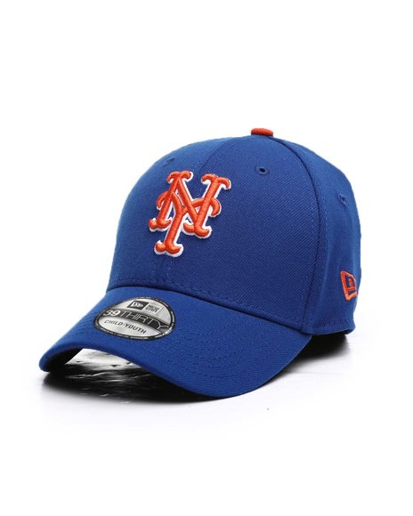 New Era - New York Mets Team Classic 39Thirty Stretch Fit Cap (Youth)