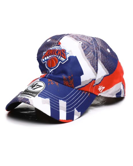 '47 - New York Knicks Retro Day Stepback 47 Clean Up Hat