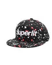 Arcade Styles - Superlit Paint Splatter Snapback Hat (Youth)-2661676