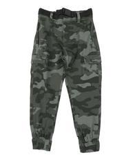 Weatherproof - Cargo Tech Belted Jogger Pants (4-7)-2661769