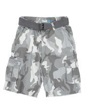 Shorts - Camo cargo shorts (8-20)-2661775