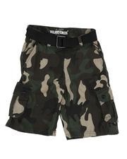 Shorts - Camo Cargo Shorts (8-20)-2661787