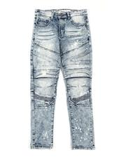 RGSTR - Embossed Washed Moto Jeans (8-18)-2661835