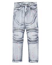 RGSTR - Paint Splatter Moto Jeans (8-18)-2661854