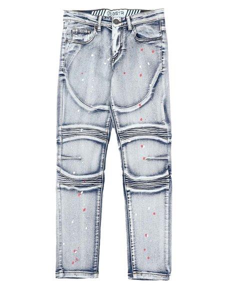 RGSTR - Paint Splatter Moto Jeans (8-18)