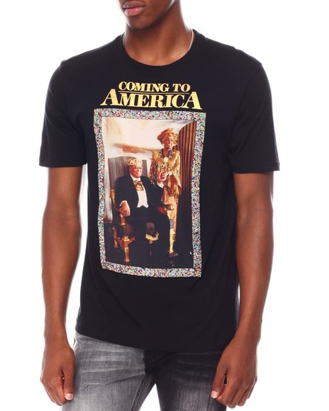deKryptic - Coming to America King Jaffe and Queen Aoleon Tee