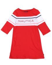Girls - Logo T-Shirt Dress (4-6X)-2661952
