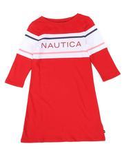 Girls - Logo T-Shirt Dress (7-16)-2661980