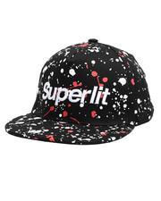 Buyers Picks - Superlit Paint Splatter Snapback Hat-2661657