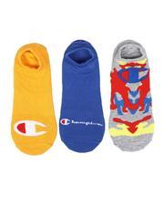 DRJ SOCK SHOP - 3Pk Super No Show Socks-2661252