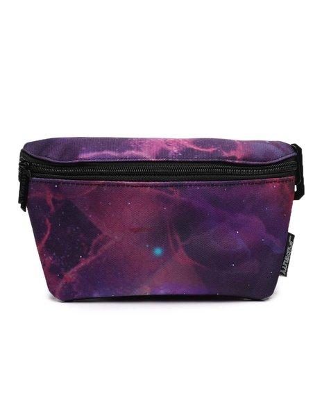 FYDELITY - Ultra Slim Fanny Pack LED Nebula Bum Bag