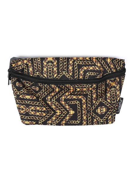 FYDELITY - Ultra Slim Fanny Pack Gold Chains Bum Bag