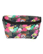 FYDELITY - Ultra Slim Fanny Pack Nick Rugrats Camo Brown Bum Bag-2662569