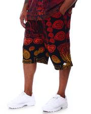 LRG - Forever Roots Paisley Fleece Shorts (B&T)-2663152
