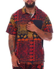 Button-downs - Forever Roots Paisley Woven Shirt (B&T)-2663165