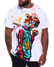 Hustle Gang - Tiger Style Knit T-Shirt (B&T)-2663188